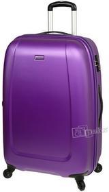 Puccini Duża walizka fioletowa ABS01 A 109,5l