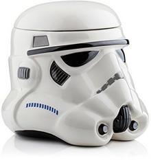 Star Wars Storm Trooper 3D 21421 pudełko na ciastka w kształcie głowy szturmowca z gwiezdnych wojen, wymiary 20 x 20 x 22 cm STAR316
