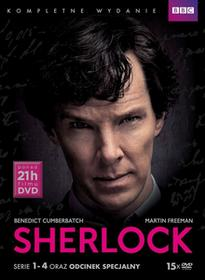 Sherlock. Kolekcja (Serie 1-4 oraz odcinek specjalny)
