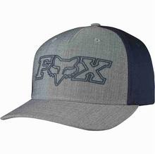 Fox czapka z daszkiem Transistor Flexfit Heather Grey 040)