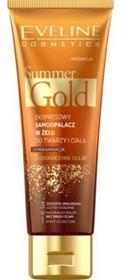Eveline Summer Gold 3w1 ekspresowy samoopalacz do twarzy i ciała do jasnej karnacji 100ml 47143-uniw