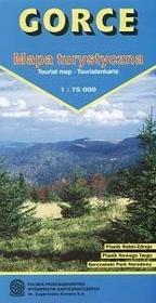 Gorce Mapa turystyczna w skali 1:75 000