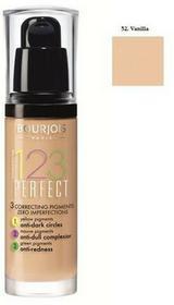 Bourjois 123 Perfect Foundation podkład ujednolicający 52 Vanilla 30ml 29650-uniw
