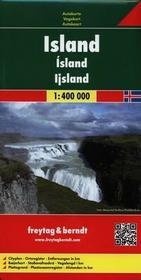 Freytag&berndt Islandia mapa 1:400 000 Freytag & Berndt - Freytag & Berndt