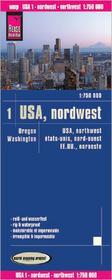 Reise Know How USA północny zachód mapa 1:750 000 Reise Know-How