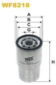 FILTRON Filtr paliwa WF8218