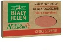 Pollena Mydło dermatologiczne z czerwoną glinką 125 g NN-KBJ-I125-002