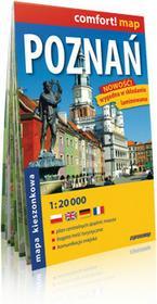 ExpressMap praca zbiorowa comfort! map Poznań. Laminowany, kieszonkowy plan miasta 1:20 000