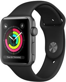 Apple Watch 3 42mm Aluminium / Gwiezdna szarość