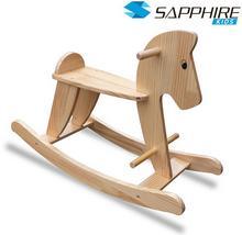 Sapphire Kids Drewniany konik na biegunach