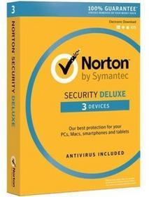 Symantec Norton Security BOX PL 3 desktop licencja na rok