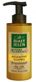 Biały Jeleń Apteka Alergika 150 ml Aksamitny kompres do opuchniętych nóg i stóp krem DARMOWA DOSTAWA DO KIOSKU RUCHU OD 24,99ZŁ