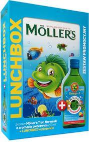 ORKLA CARE S.A. MOLLERS Tran Norweski o aromacie owocowym 250ml + Lunchbox