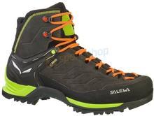 Salewa Buty trekkingowe MTN Trainer MID GTX brązowo-zielone) 12h