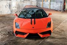 Ferrari Italia kontra Lamborghini Gallardo Bednary kierowca II okrążenia TAAK_JFCLGB2