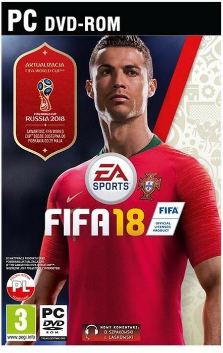 EA FIFA 18 Edycja Standardowa PC