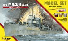 Mirage Hobby ORP Mazur wz.39 Polski Okręt Artyleryjski)
