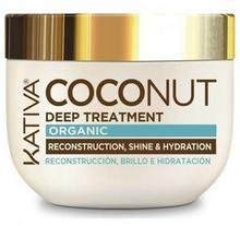 Kativa Coconut Deep Tratment 250 ml Kokosowa maska do włosów odbudowująca i nadająca połysku