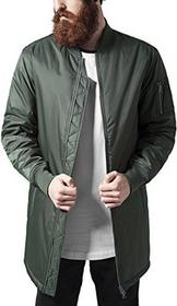 Urban Classics kurtka męska Long Bomber Jacket, kolor: zielony (oliwka 176) , rozmiar: m B01CVGKE38