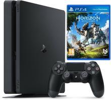Sony PlayStation 4 1Tb Czarny + Horizon Zero Dawn + Uncharted 4: Kres Złodzieja + PSPlus 3 m-ce