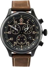 Cyfrowy zegarek Timex dla pań i dla panów, kolor: brązowy