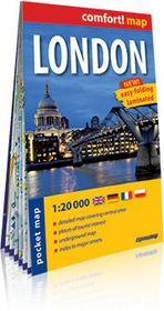 ExpressMap praca zbiorowa comfort! map Londyn (London). Laminowany, kieszonkowy plan miasta 1:20 000