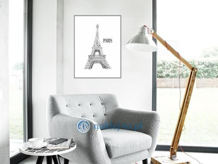 Naklej-to.pl Plakat Paryż parisplakat1