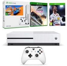 Microsoft Microsoft Konsola Xbox One S 500 GB + FIFA 18 + Forza Horizon 3 + Hot Wheels