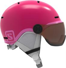 Salomon Grom Visor Glossy Pink Ks 49 53