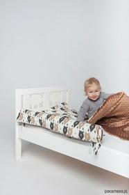 Ikea Ochraniacz do łóżka brązowe misie