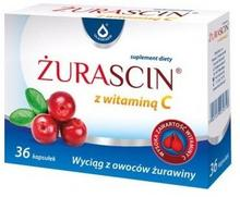 Oleofarm Żurascin z witaminą C, 36 kaps.