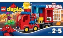 LEGO Duplo Spider-Man przygoda ciężarówki pająka 10608