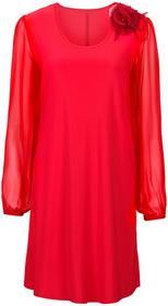 Bonprix Sukienka czerwony klonowy