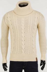 Męski sweter HULIO ECRU 0005001-31