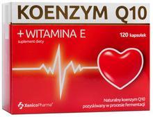 XENICO KOENZYM + WITAMINA E 120 kapsułek 3419421
