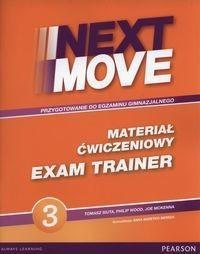 PEARSON Next Move 3 Exam Trainer materiał ćwiczeniowy - Tomasz Siuta, Wood Philip. McKenna Joe