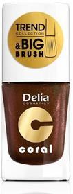 Delia TC04 Coral TREND COLLECTION Lakier do paznokci 11ml