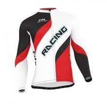 FDX Bluza rowerowa męska FDX Cycling Long Sleeve Jersey XXL FDX_1230_RED#1