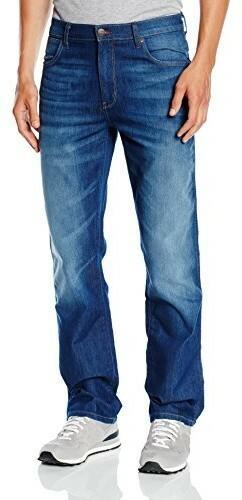 0d61a9b46368ce Wrangler Spodnie jeansowe TEXAS STRETCH dla mężczyzn, kolor: niebieski,  rozmiar: W32/