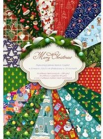Świąteczny papier Merry Christmas 24x34cm/32ark.