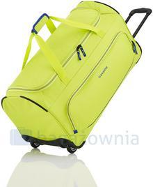 Travelite Torba podróżna na kołach BASIC 96277-80 Limonkowa - limonka 96277-80