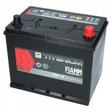 Fiamm TITANIUM BLACK D26 75 12V 75Ah 640A (EN) P+
