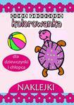 Love Books Moja pierwsza kolorowanka Dla dziewczynki i chłopca Agnieszka Wileńska