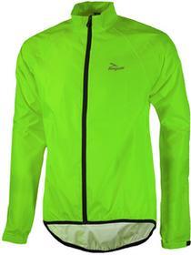Rogelli TELLICO kurtka rowerowa przeciwdeszczowa fluor zielony