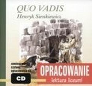 Quo Vadis - opracowanie powieści - książka + CD - Kordela Andrzej, Bodych Marcin