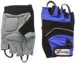Accessoriez Zawierająca riez rower rękawiczki bez palców. l GL1001BLUL