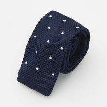 Reserved Krawat ścięty - Granatowy