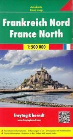 Freytag&Berndt Francja Północna mapa 1:500 000 Freytag & Berndt