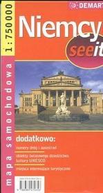 Demart  Niemcy 1:750 000 mapa samochodowa