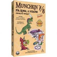 Black Monk Games Munchkin 7/8 - Pół Konia a Uciągnie Oszukując Oburącz 4814